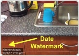 PIM and Date/time Watermarks