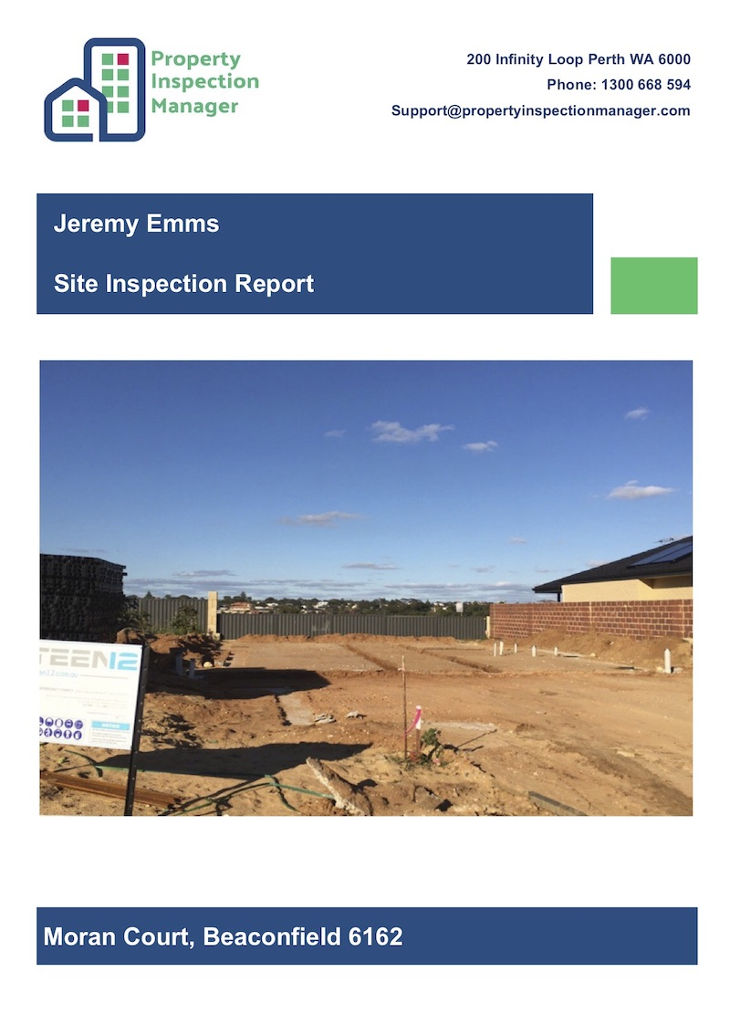 Site Building Inspection Report